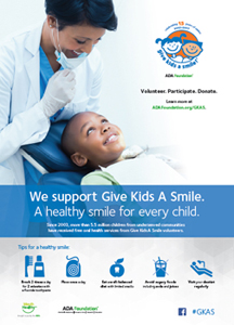 Give Kids A Smile poster in English