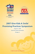 Give Kids A Smile Symposium Proceedings 2007