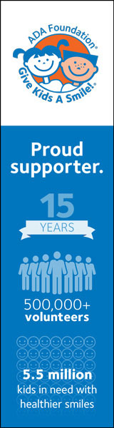 "GKAS vertical banner ad ""proud supporter"""